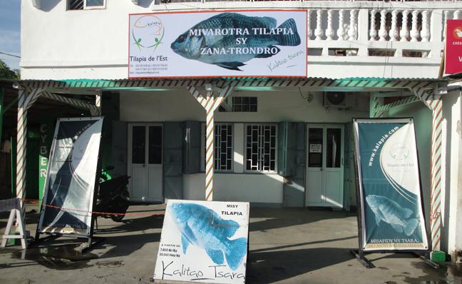 Point de vente à Tamatave